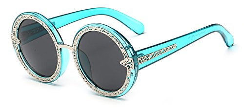 The Round Shape black Cute Sunglasses Nice for Dress