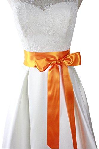 orange wedding dresses - 9