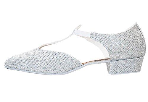 Cerco White Glitter Shoes Or Salsa Pink Katz By Greek Dancewear Silver Dance Teaching Black Ladies Jive Sandal tpRxHwRvq
