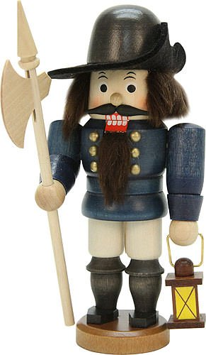 Nutcracker - Night Watch Man Glazed - 15,5 cm / 6 inch