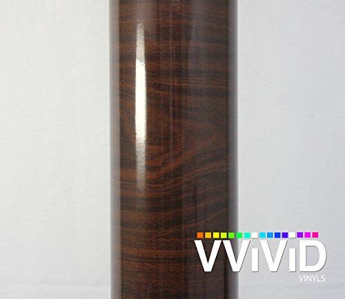 vvivid-high-gloss-dark-brown-cedar-striped-wood-grain-faux-finish-textured-vinyl-wrap-contact-paper-