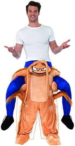 Smiffys Mens Halloween Piggyback Cockroach Costume