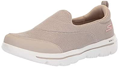 Skechers Womens 15730 Go Walk Evolution Ultra Rapids Beige Size: 5