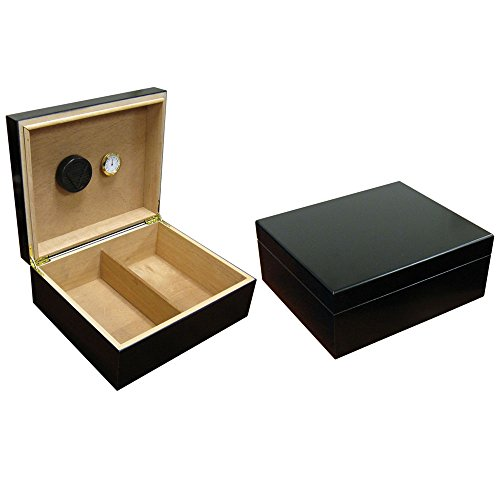 Prestige Import Group Chalet Black Cigar Humidor ()