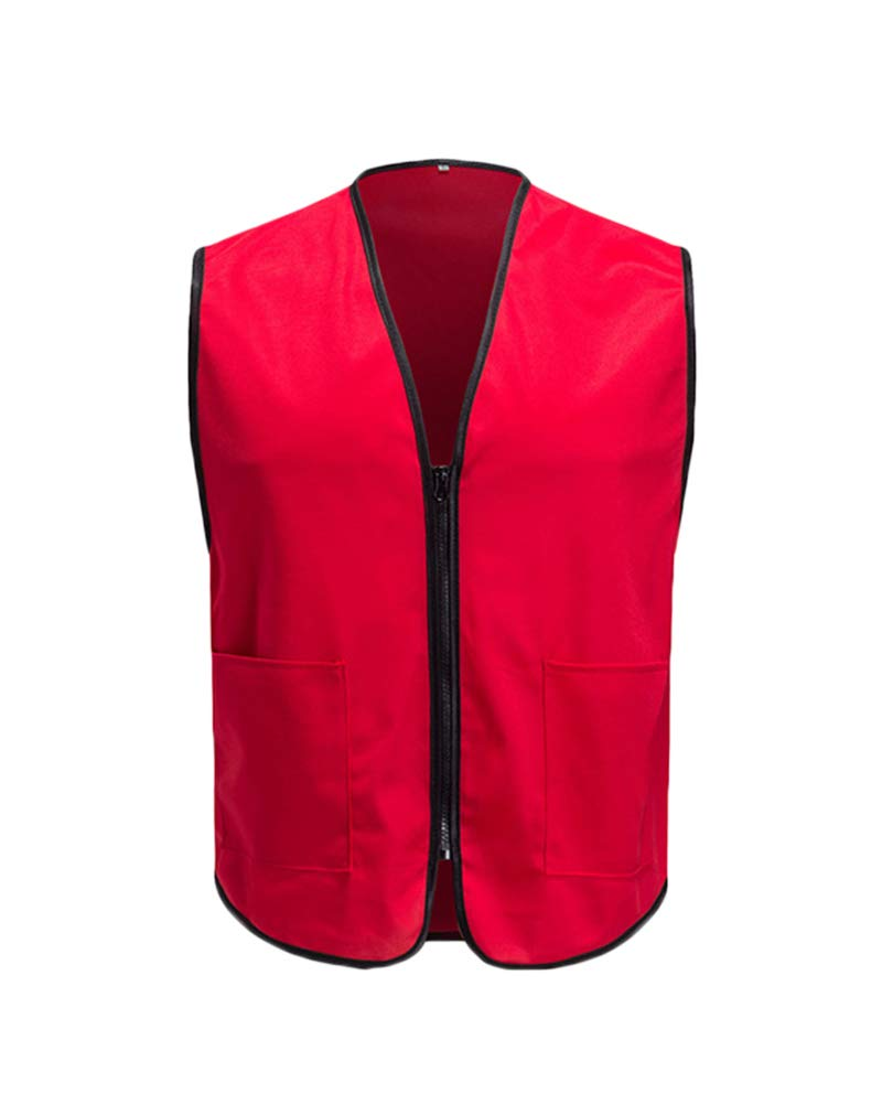 Vest Quick Dry Hunting Thin Gilet Top for Unisex Red 2XL by Shaoyao