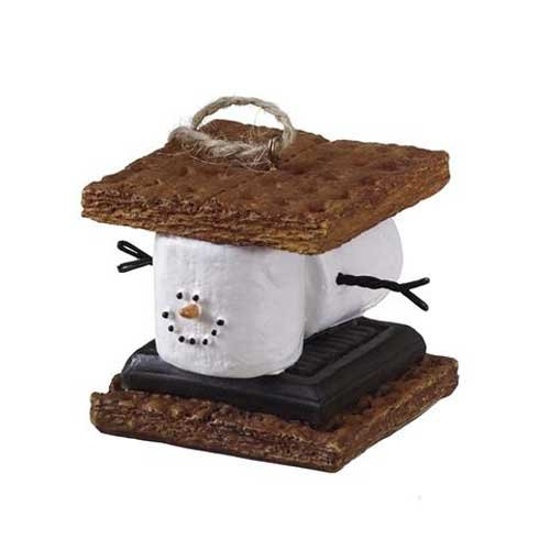 (Midwest CBK S'mores Sandwich Christmas/ Everyday Ornament)