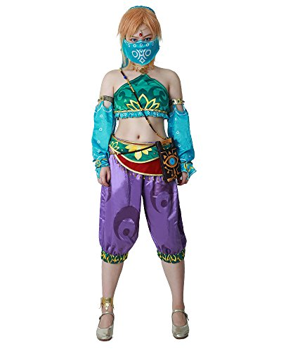 Miccostumes Women's Gerudo Link Costume Cosplay Outfit Halloween (S)]()