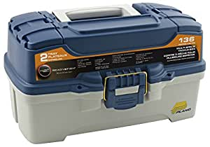 Ready to Fish 136 piece 2 Tray Tackle Box