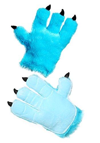 FunCostumes Adult Blue Monster Hands Standard for $<!--$9.99-->