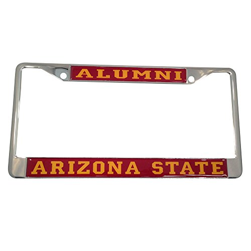 Arizona State University License Plate Frame/Tag For Front Back of Car Officially Licensed (Alumni - Metal - New Veterans Orleans Ford