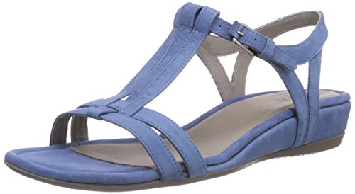 ECCO Women's Touch 25 Dress Sandal,Retro Blue,39 EU/8-8.5 M US by ECCO