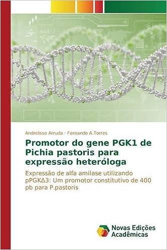 Amazon.com: Promotor do gene PGK1 de Pichia pastoris para expressão ...