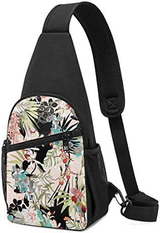 ボディ肩掛け 斜め掛け ボダン 絵画 ショルダーバッグ ワンショルダーバッグ メンズ 軽量 大容量 多機能レジャーバックパック