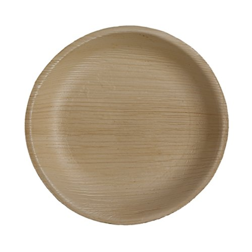 Table To Go 200-Piece Palm Leaf Round Salad Plates, ()