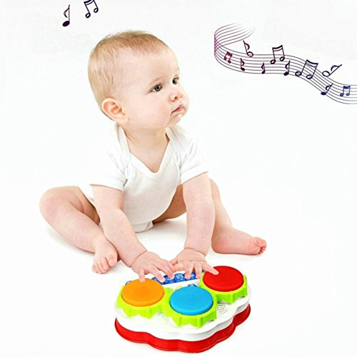 41T5h0xxdTL - TINOTEEN Baby Musical Toys for Toddler, Piano and Drum Musical Instruments Toys