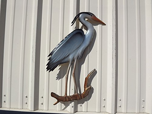 28'' Blue Heron Half Mount Replica , Fishing Wall & Coastal Decor by Mount This Fish Company (Image #2)