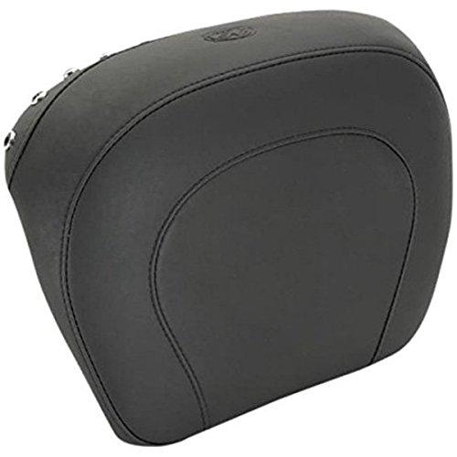 (14-16 HARLEY FLHX2: Mustang Passenger Backrest Pad (Black Studded / 13