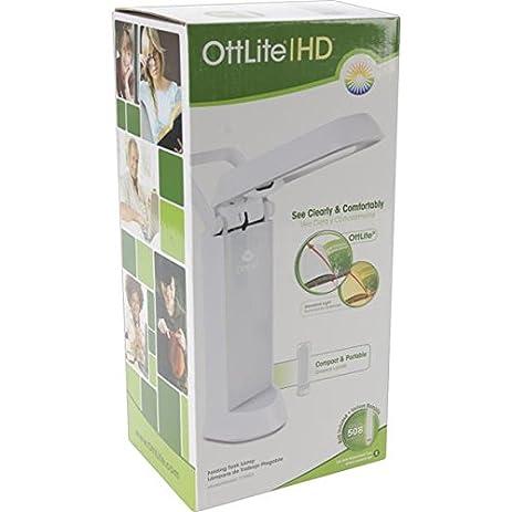 Amazon.com: OttLite 717WG3 13-watt Refresh Task Lamp, White Finish ...