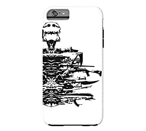 Atomic Disassembly iPhone 6 Plus White Tough Phone Case - Design By Humans