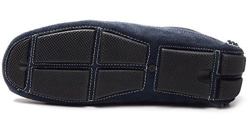 PU Yrxz1264wc Pour Odema Conduite Hommes Hommes Désigne Bateau Conduite Chaussures Suède bleu Docksides 00rEf4Pq