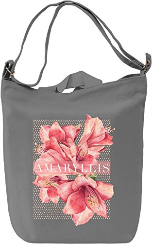 Amaryllis Borsa Giornaliera Canvas Canvas Day Bag| 100% Premium Cotton Canvas| DTG Printing|