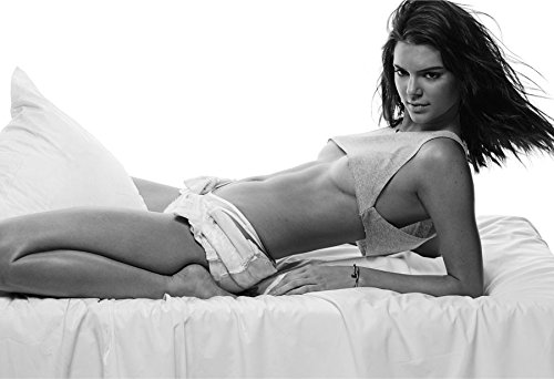 """Kendall Jenner Poster 13x19"""" Quality Black And White Print"""