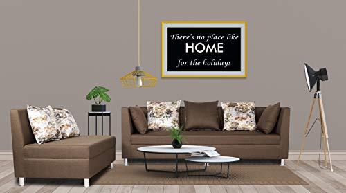 Adorn India Alica Modular Sofa Set(Camel)