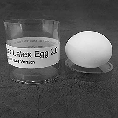 blue-ther Super Latex Egg 2.0 - Small Hole Version Stage Magic Tricks Real-Looking Egg Magic Illusions Gimmick Accessories Funny Close up Magic: Toys & Games