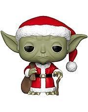 Funko 33885 Pop Star Wars: Holiday - Santa Yoda Collectible Figure, Multicolor