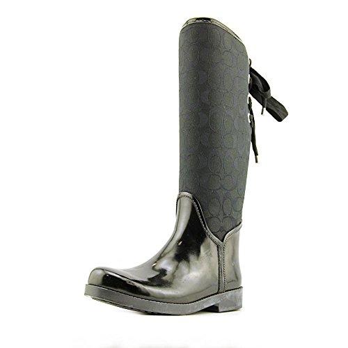 coach-womens-tristee-black-smoke-black-rubber-rain-boots-8-bm-style-a00268