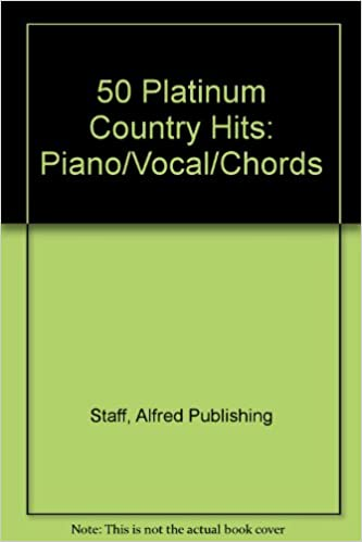 50 Platinum Country Hits Pianovocalchords Alfred Music