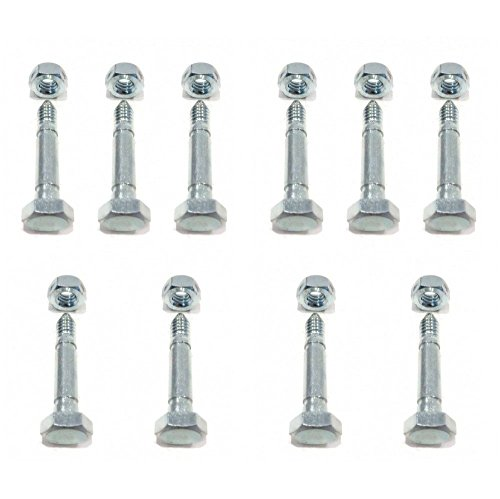 The ROP Shop (10) Shear PIN Bolts for Ariens 532005 53200500 Snowblowers Snowthrowers Auger (Shear Pins 53200500)