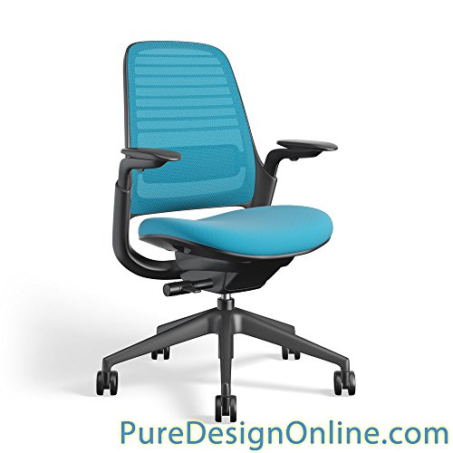 Steelcase 435A00 Series 1 Work Office Chair, Blue Jay for sale  Delivered anywhere in USA