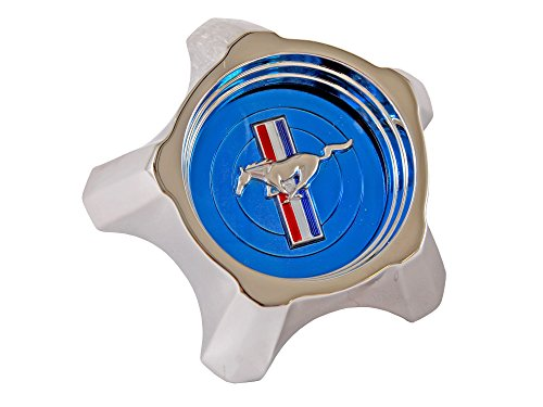 Mustang Wheel Cap Styled Steel Each 1967 Blue