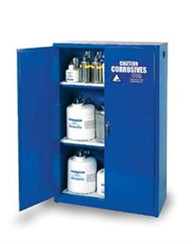 Eagle CRA-47 Safety Cabinet for Corrosive Liquids, 2 Door Manual Close, 45 gallon, 65