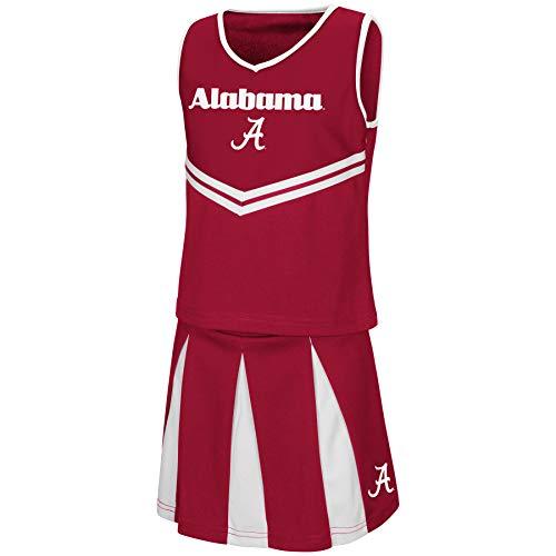 Colosseum Youth NCAA-Girls Cheer Set-Alabama Crimson Tide-Youth ()