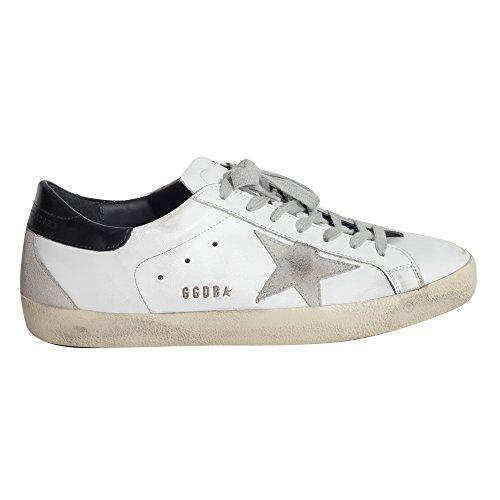 Sneakers Golden Goose Superstar Bianco Nero