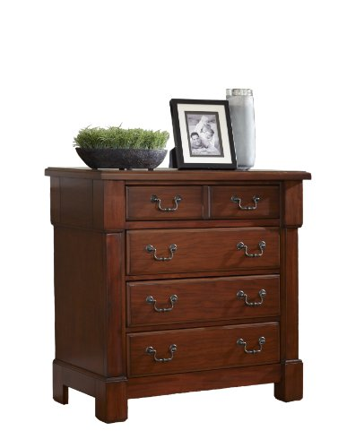 (Aspen Rustic Cherry Drawer Chest by Home Styles )