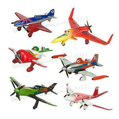 jounsangjom-set-of-6pcs-planes-dusty-bulldog-6-8cm-pvc-plane-figure-toy-play-set-new