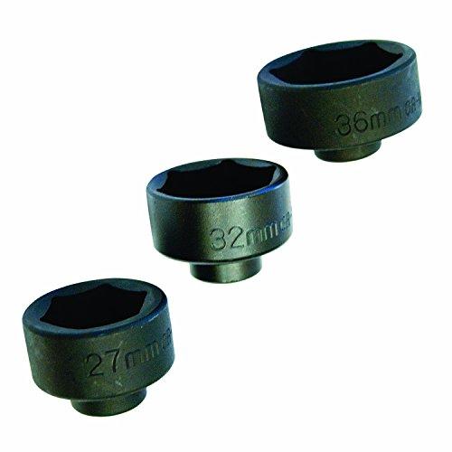 OEMTOOLS 27204  Oil Cap Filter Socket, 3-Piece