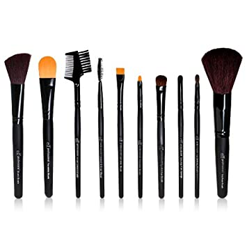 elf eyebrow brushes. e.l.f. 10 piece brush set elf eyebrow brushes