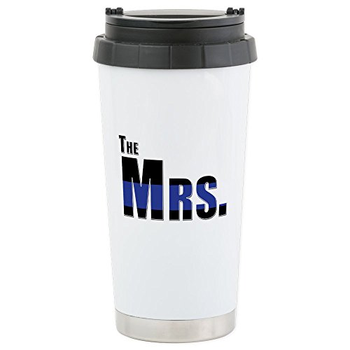 CafePress Police Stainless Insulated Tumbler