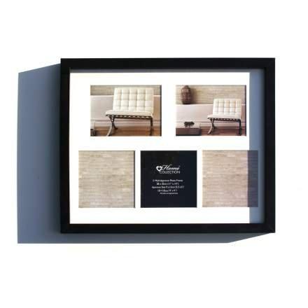 Four X Ninety Wooden picture Frame Black/White / Ash/Brown (Black ...