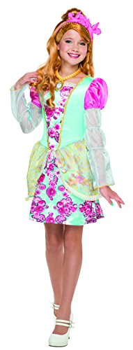 Cinderella Costumes Rental (Ever After High Ashlynn Ella Costume, Child's Large)