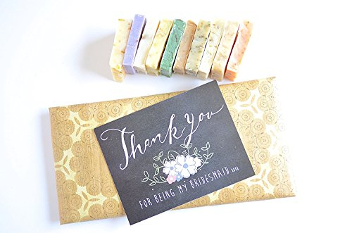 Bridesmaid Gifts Mini Soap Set; Personalized Bridesmaid Gifts; Bridal Shower Gifts; Bridesmaid Gift Sets; Custom Bridesmaid Gifts; Bridal Shower Favor…