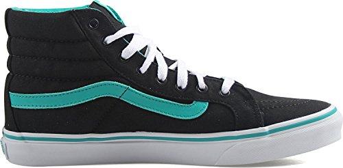 Vans Unisexe Sk8-hi Chaussures De Skate Slim (pop) -columbia / Black-7-women / 5.5-men