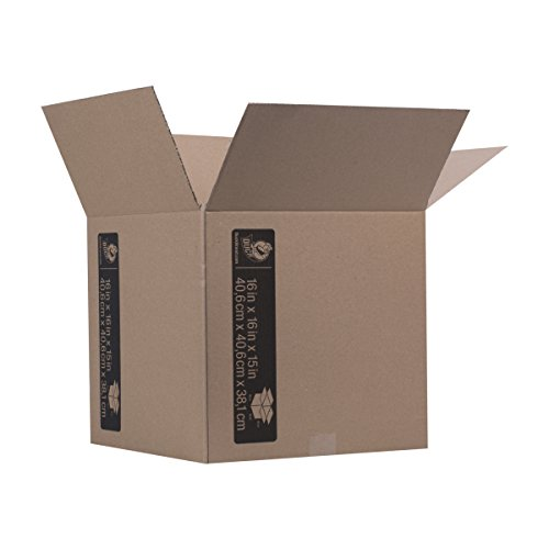 Decorative Corrugated Box - Duck Brand Kraft Corrugated Shipping Boxes, 16