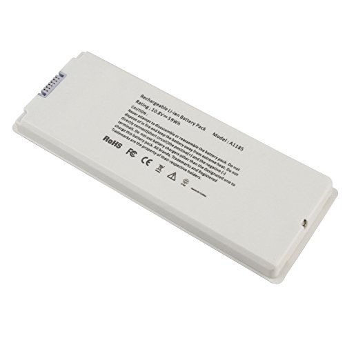 "Replacement Laptop Battery for Apple MacBook 13-inch,MacBook 13.3"" (A1181, A1185"