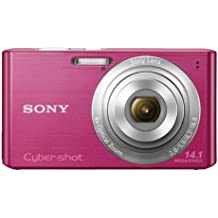 Sony Cyber-shot DSC-W610 14.1 MP Digital Camera with 4x Optical Zoom and 2.7-Inch LCD (Pink) (2012 Model)