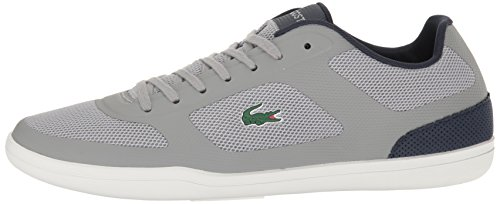 Lacoste Men's Court Minimal Casual Shoe Fashion Sneaker, Grey, 11 M US
